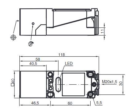 工业传感器 接近传感器 电容式接近开关 电容式接近开关    电容式