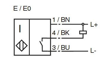电感式传感器 NBN4-12GM40-E0-V1