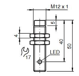 电感式传感器 NBN4-12GM40-E2-V1