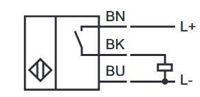 电感式传感器 NBN4-12GM50-E2-8M