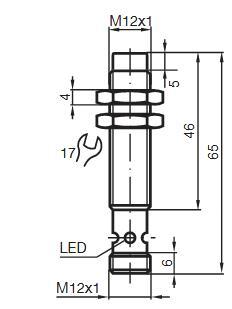 电感式传感器 NBN4-12GM50-E2-V1-Y89925