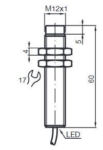 电感式传感器 NBN4-12GM60-A2